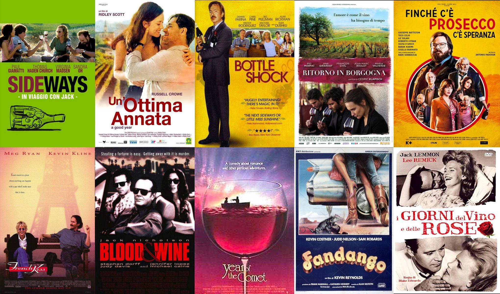 film che parlano di vino