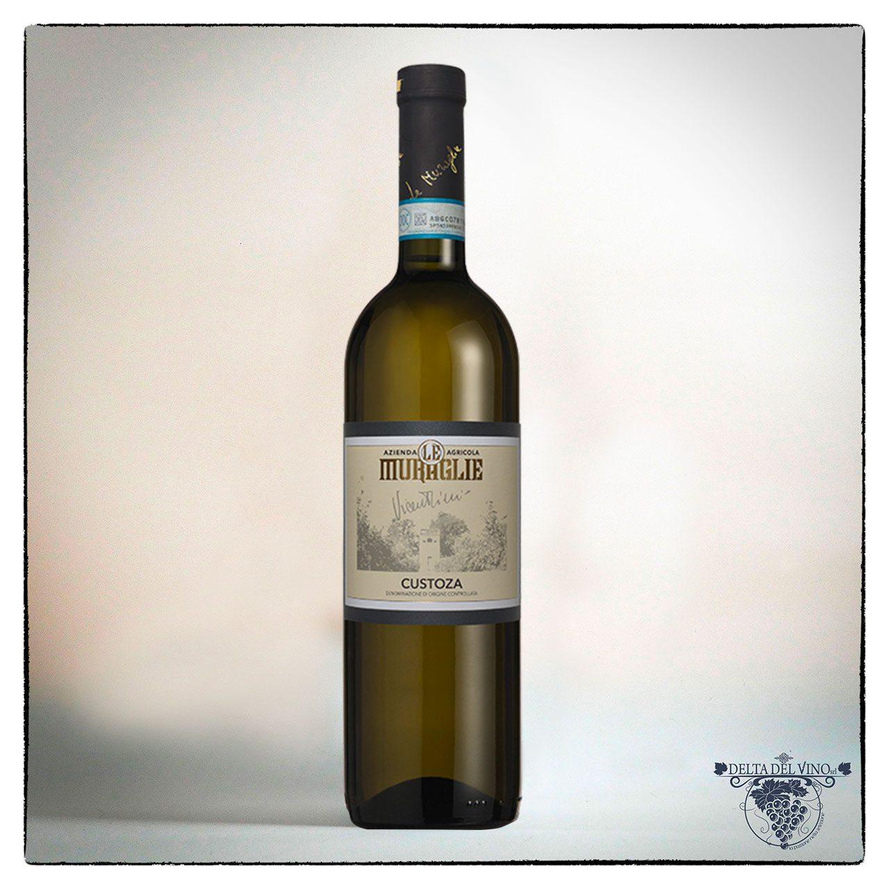 Custoza DOC vino bianco del lago di Garda